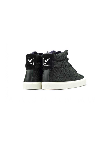 VEJA Esplar High Top Tilapia Black