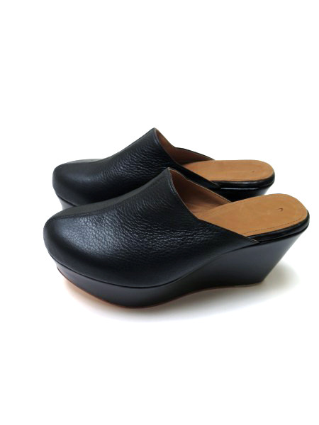 THE PALATINES Lacuna Geometric Wedge Clog