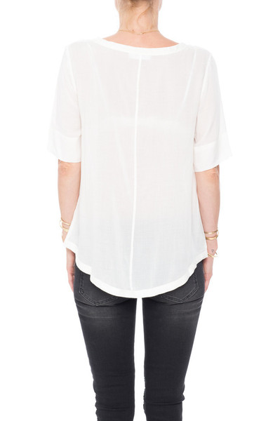 Anine Bing Boat Neck Blouse