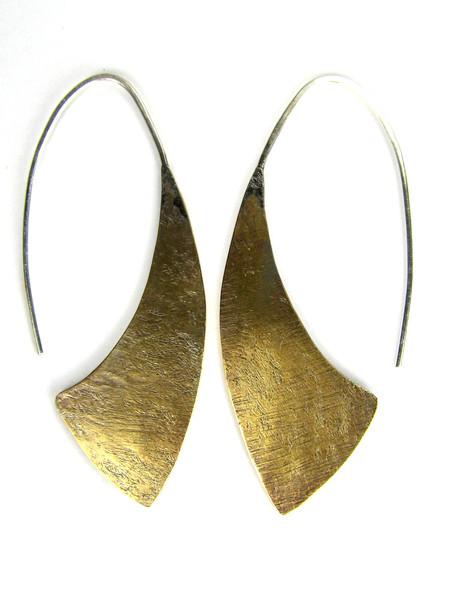 CUYLER HOVEY KING Brass Earrings