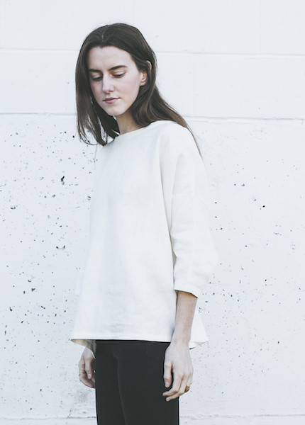 Sunja Link Pullover in Cream