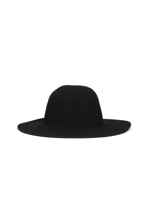 Westerlind Felt Wide Brimmed Hat - Black