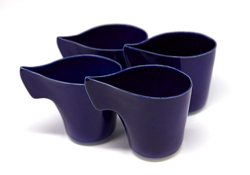 Hannah June Curl Cup - Royal Blue