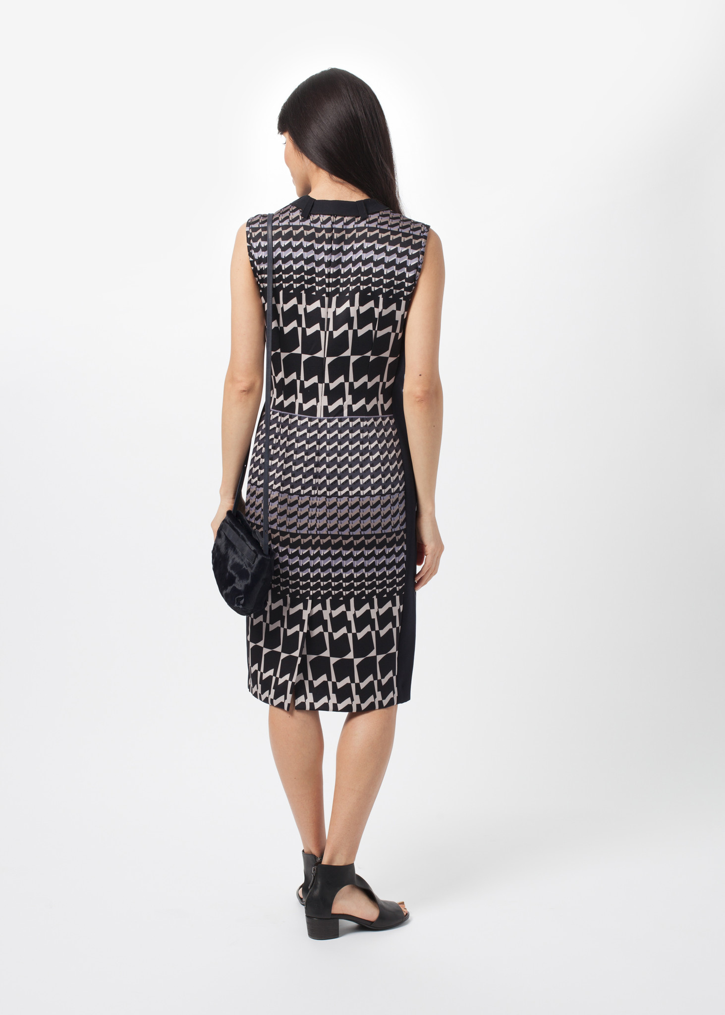 Amelia toro fitted houndstooth dress from baby amp company garmentory