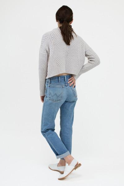 Micaela Greg Silver Bevel Sweater