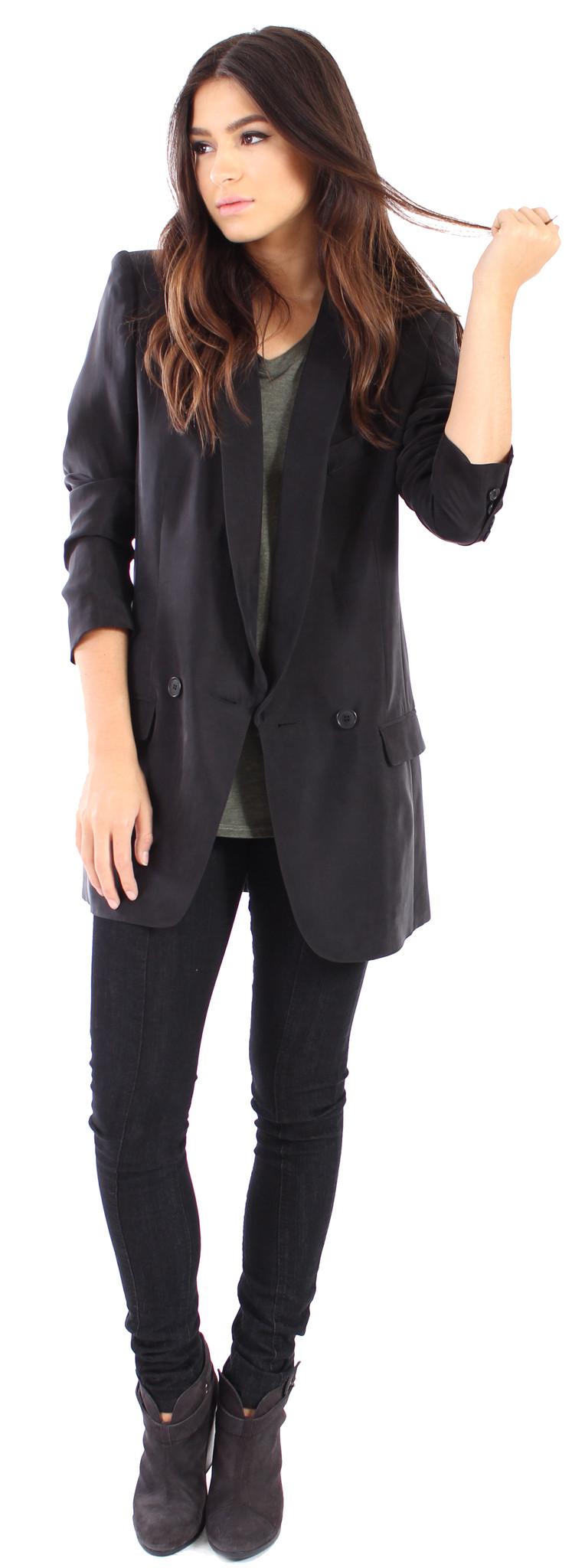 oversized boyfriend blazer from parallel garmentory. Black Bedroom Furniture Sets. Home Design Ideas