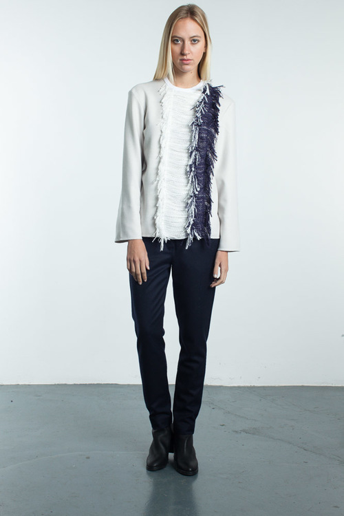 Steven Tai Shirt With Fringe