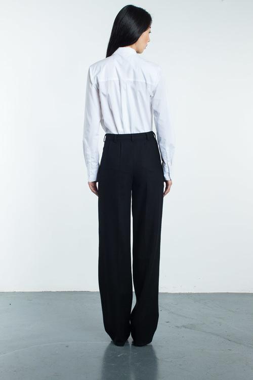 Tia Cibani Classic Shirt With Asymmetric Extension