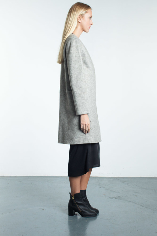 Mandarin & General Geometric Coat