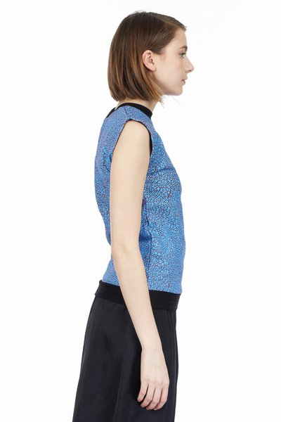 Opening Ceremony Crackle Sleeveless Top