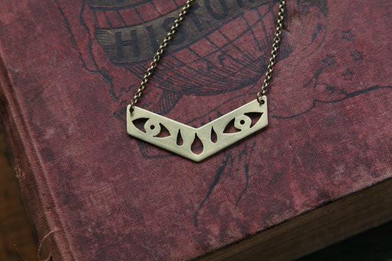 Cobra Cult Chevron Mystic Tears Necklace