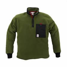 Mens Topo Designs Fleece Jacket