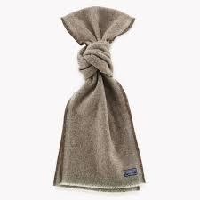 Faribault Herringbone Wool Scarf