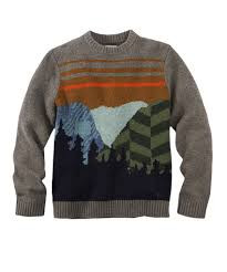 Men's Woolrich Mountain Range Crew Sweater