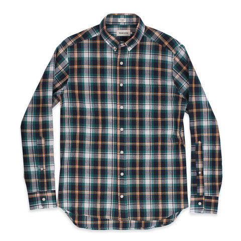 Men's Taylor Stitch Spruce Indian Madras Shirt