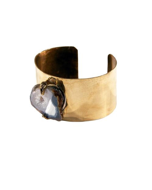 Unearthen Basha Raw Geode Cuff