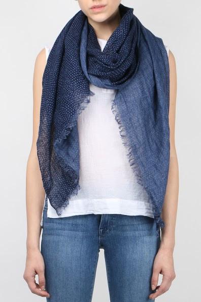 Destin Print Jeans Scarf