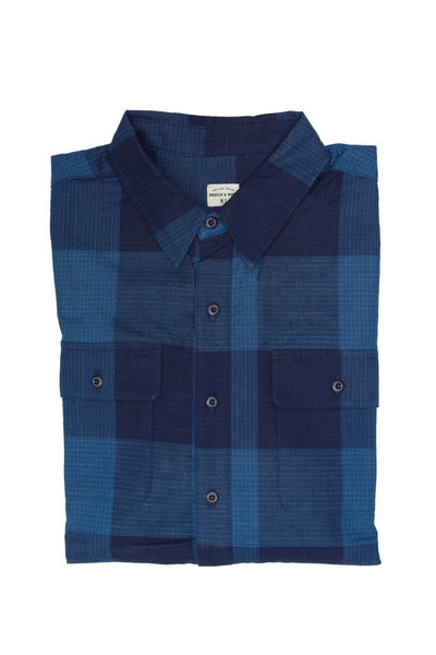 Men's Bridge & Burn Franklin Indigo Plaid