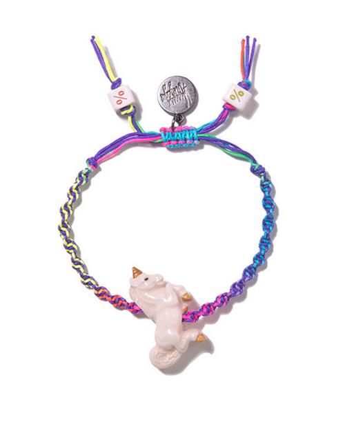 Venessa Arizaga Rainbow Unicorn Bracelet