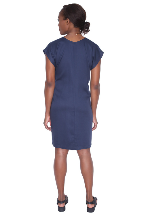 Shaina Mote Meta Dress in Indigo