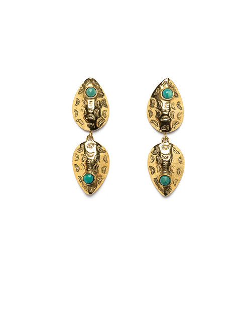 Lizzie Fortunato Concho Reflection Earrings