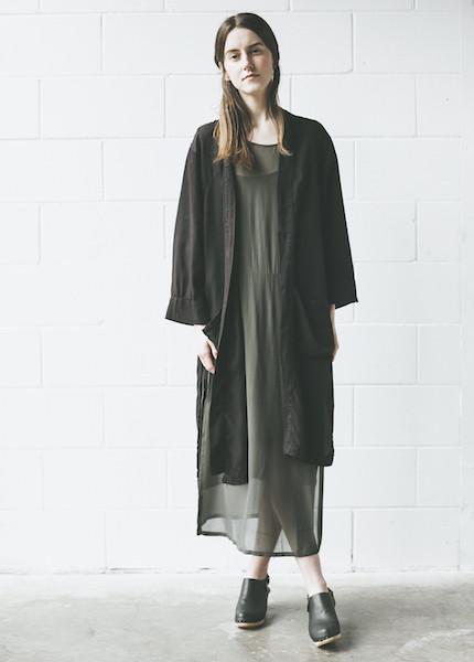 Lacausa - Lotus Jacket in Tar