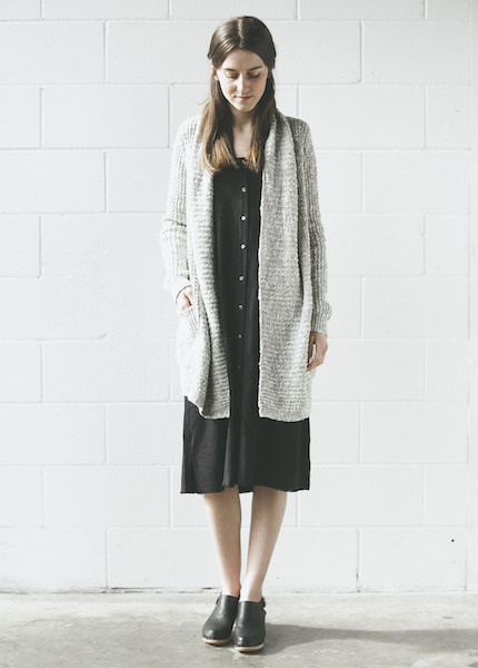Line Knitwear - Vaughan in Whitewater