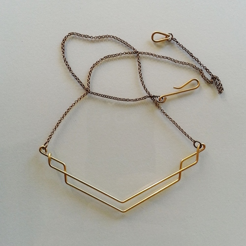Hellbent Single-line Necklace