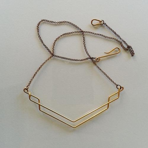 Hellbent Single-line Necklace