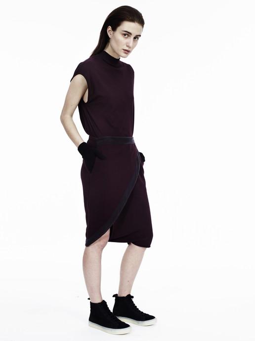 Relya Overlap Skirt