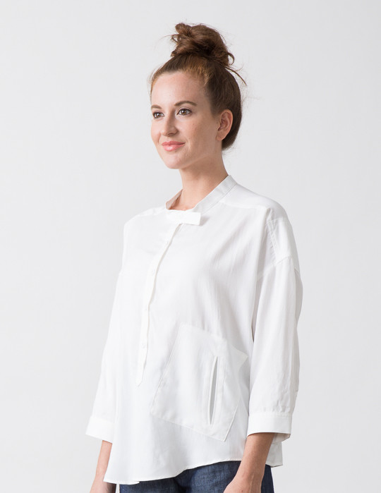 SBJ Austin Isabel Top in White