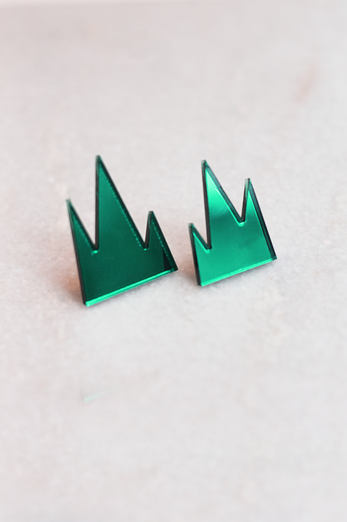 R/H STUDIO Mountain Earrings