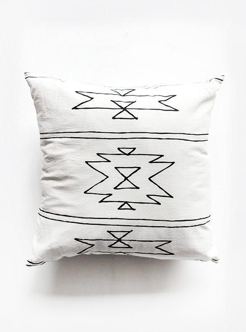 Sunday Supply Co. Organic Cotton Pillow New Mexico