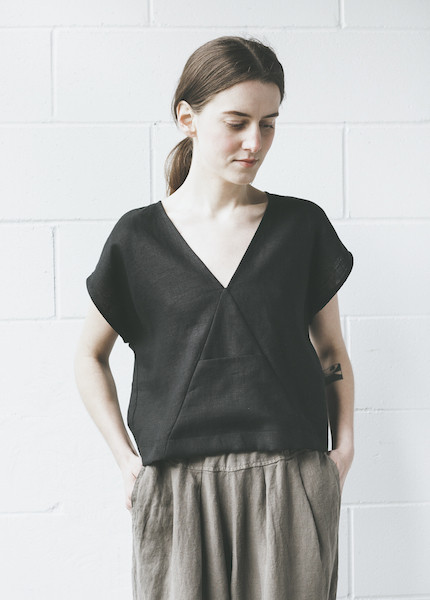 Ursa Minor Aleph Top in Black