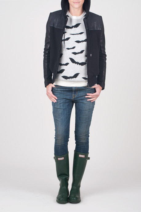 Banjo & Matilda Cashmere Bat Print Sweater