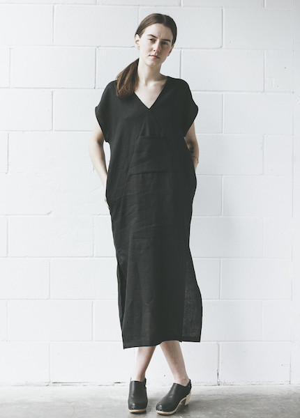 Ursa Minor Kathe Dress in Black