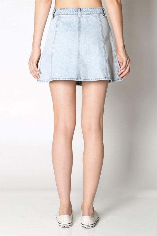 Res Denim Little Games Skirt