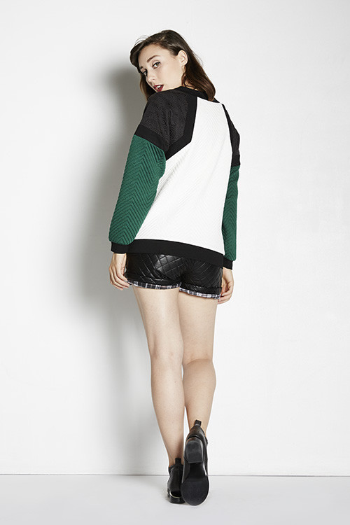 Line & Dot Baldwin Long Sleeve Sweatshirt
