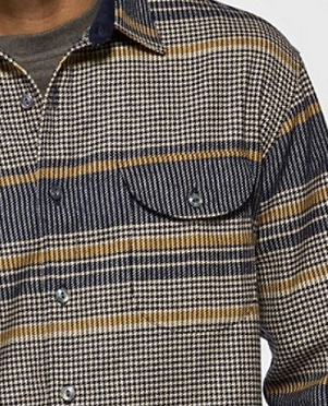 Men's Pendleton Fitted Houndstooth Buckley Shirt