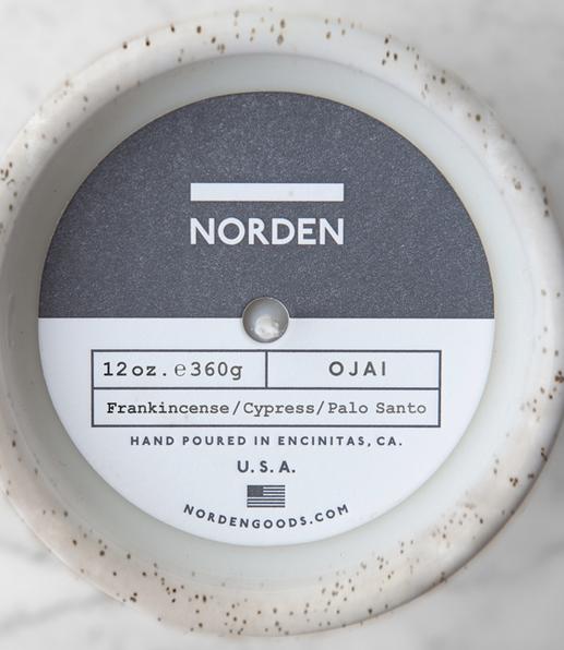 Norden Ojai Candle