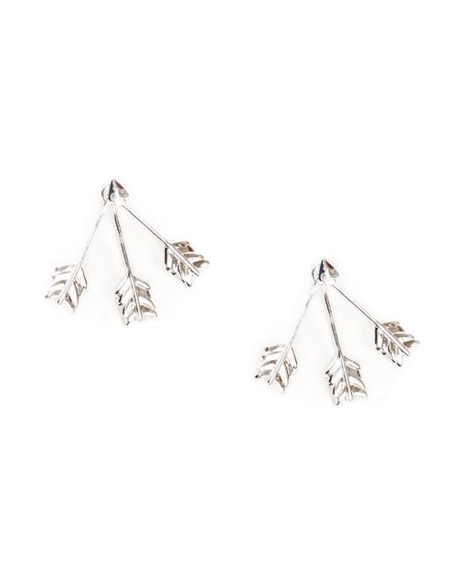 Pamela Love Triple Arrow Ear Jacket in Sterling Silver