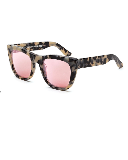 RetroSuperFuture Gals Gel Sunglasses