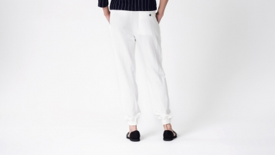 Shades of Grey DRAPED POCKET TROUSER