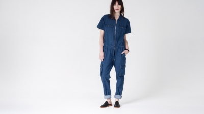 Shades of Grey KAYLA ZIP WORKSUIT