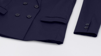 Lucca Couture x Wildfang The Lennox Double Breasted Blazer