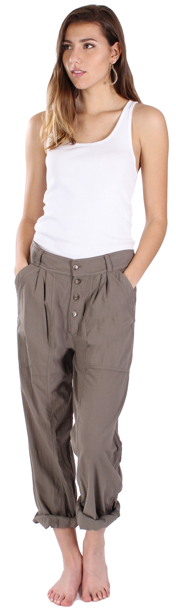 Prairie Underground Band Pant in Olive