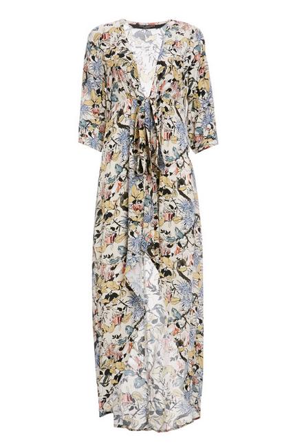 KNOT SISTERS Morrison Dress/Kimono - Floral