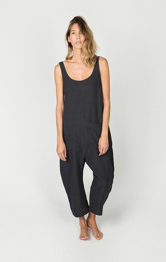 Ilana Kohn Gary Jumpsuit Faded Black