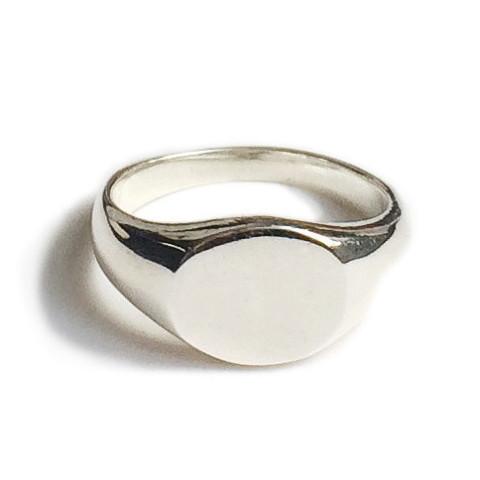 Tarin Thomas Arthur Silver Mini Signet Ring