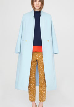 Apiece Apart Powder Blue Esta Coat